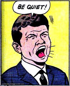 Who knew it was possible to break a car dealer's spirit? | Vintage Comic Panel, Pop Art via Comically Vintage.