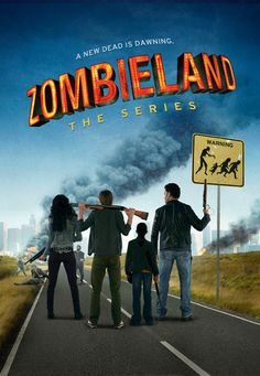 Zombieland, the Series was the original idea but it was turned in to a movie when producers thought that a zombie tv show would not do well. Movies And Series, Movies And Tv Shows, Tv Series, Zombie Walk, Zombie Girl, Love Movie, Movie Tv, All You Zombies, Zombie News