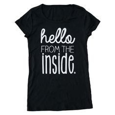 hello from the inside New Moms, Mens Tops, Shopping, Clothes, Women, Fashion, Moda, Clothing, Women's