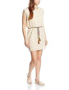 UK 6, Pink - Rose (Ligpin), Kaporal Women's Tunic Sleeveless Dress NEW