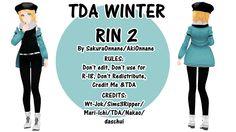 [Model +DL] TDA Winter Rin 2 by SakuraOnnane