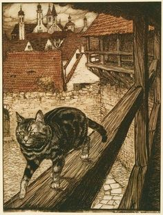 The Fairy Tales of the Brothers Grimm, 1909, Illustrated by: Arthur Rackham, English, 1867–1939