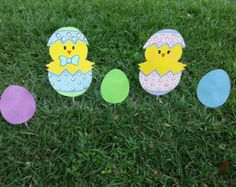 Easter Yard Art Easter Decoration Easter Outdoor by EMCYardArt