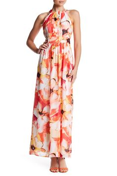 Pleated Bodice Maxi Dress by Nine West on @nordstrom_rack