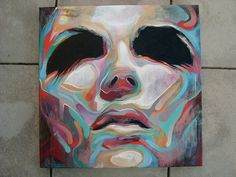New Abstracted Portrait by Art By Doc, via Flickr