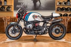 "Racing Cafè: BMW R NineT ""Martini"" by BMW MOTO RIDE Toulouse"
