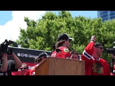 Duncan Keith's rally speech.