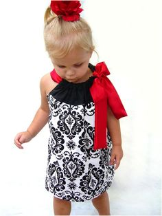 Pillowcase dress that I must figure out how to make!