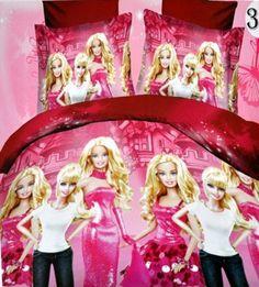 Pink Barbie super soft single bed. Aastha · Bed Sheets Online India f7ba9a049b8d
