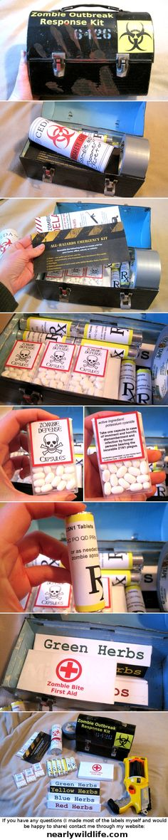 Caswallon's Zombie Outbreak Response Kit - by nearlywildlife