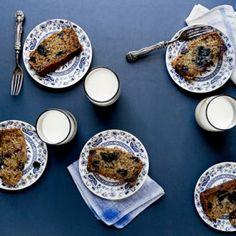 Vegan Blueberry Banana Bread Recipe