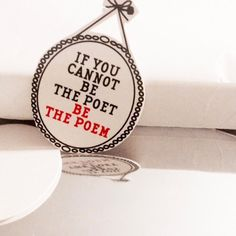 """If you cannot be the poet, be the poem"" #quotes #poem #poet #cutout"