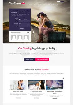 BuddyPress integration gives you the option to connect all your members and display every detail of their profile. Registration and login options are facilitated thanks to a Facebook login option. Notifications are immediately visible on individual profiles and online status is shown in real time. Sweet Date includes tons of options for styling which makes this theme a joy to use.