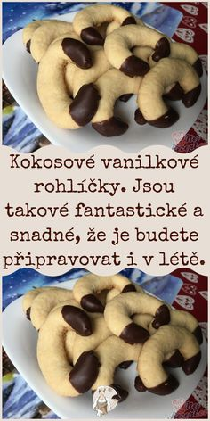 German Desserts, Gingerbread Cookies, Cookie Recipes, Cereal, Cooking, Breakfast, Christmas, Czech Recipes, Gingerbread Cupcakes