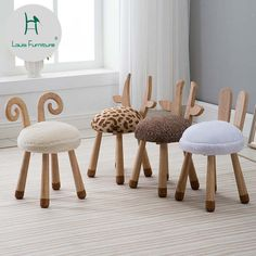 kids wooden chair on sale at reasonable prices, buy Modern Design Solid Wooden animal design Kids Baby Chair, cute lovely Child Kid Wood Chair, nice fashion design baby chair 1 PC from mobile site on Aliexpress Now!