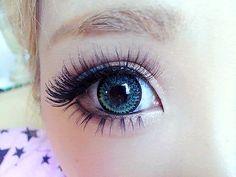 #makeup #circle lenses