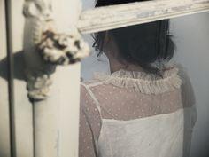 PL16 la jolie Virginie de @mespetitespaillettes portant notre Blouse Petit Lever