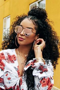 We've collected the most inspiring and flattering hairstyles that every curly woman should try in her life. Go on reading this post to see how you can freshen up your look! #longcurlyhair #curlyhairstyles #longhairstyles