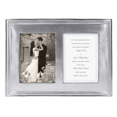 Mariposa Classic Double Picture Frame