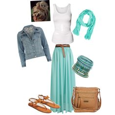 polyvore summer outfits | fashion look from January 2013 featuring American Vintage tops ...