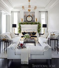 64 White Living Room Ideas My home Pinterest Door opener