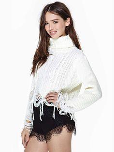 Black Contrast Lace Slim Shorts US$31.00