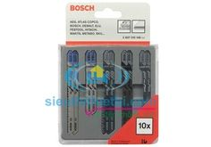 Bộ lưỡi cưa sắt/gỗ 10 cây Bosch 2607010148