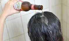 Everyone wants beautiful hair, especially those who suffer from hair loss. This woman poured beer on her hair every time she washed it, a… Korean Beauty Routine, Beauty Routines, Beauty Hacks That Actually Work, Beer For Hair, Hair Rinse, Good Hair Day, Tips Belleza, Shiny Hair, Hair Loss