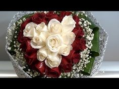Roses Tied & Wrapped for Mother's Day #wrapflowers - YouTube