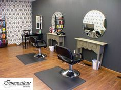 Beauty Salon Ideas at Home | The stations are cute #home #hair#salon