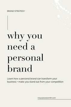 Why your business needs a personal brand to connect with your ideal client and transform your business. Business Branding, Business Marketing, Business Tips, Online Business, Llc Business, Social Marketing, Media Marketing, Boutique Logo, Business Education