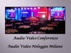 Audiovideonoleggiomilano vi assisterà nell'organizzazione di Conferenze audio video. Abbiamo una lista di pacchetti da cui è possibile scegliere in base alle vostre rquirements.
