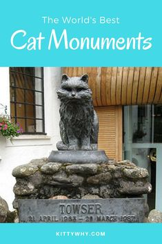 Travel for cat lovers! Visit cat monuments around the world