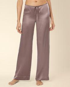 a763da6678 Soma Intimates Embraceable Silk Pajama Pant Mochaccino  somaintimates