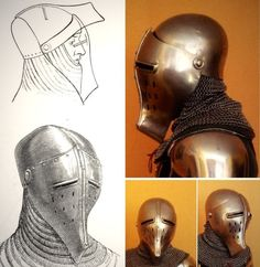 "Arms & Armor thread - ""/tg/ - Traditional Games"" is imageboard for discussing traditional gaming, such as board games and tabletop RPGs. Medieval Knight, Medieval Armor, Medieval Fantasy, Armadura Medieval, Medieval Helmets, Armor Clothing, Templer, Knight Armor, Arm Armor"