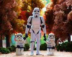 Star Wars Stormtrooper Lego Photography Print 10x8 Wall Art Childrens Room Decor