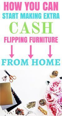 This post is awesome for anyone looking to make extra cash on the side ( or full time!) flipping furniture! How to start TODAY plus all the best tools & resources to get you making money right away! Definitely worth checking out!