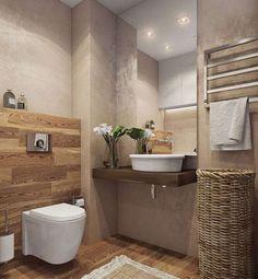 Baños de estilo minimalista por Angelina Alekseeva - homify / Angelina Alekseeva