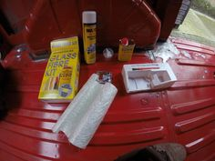 When looking into buying a van you have to be prepare to find rust somewhere on that type of vehicle, this can be due to its age or the ways it been treated in the past. Dont be discouraged on purc… Van Conversion Project, Rust Prevention, Fiber, Treats, Glass, Interior, Projects, Sweet Like Candy, Indoor