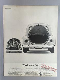 I would love to add VW ads on the walls of my future home someday