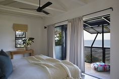37 is a Sheffield Beach villa on the KwaZulu-Natal Dolphin coast framed and fanned by banana palms and ferns and dramatic strelitzia. Beach Villa, Beach House, Beach Accommodation, Kwazulu Natal, Rental Property, Home Projects, South Africa, Vacation, Sheffield
