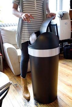 Trash Can 16 Gallon Swing Top Kitchen Waste Basket Home Office Garbage Bin #Umbra