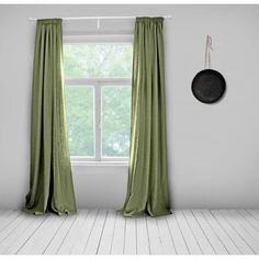 Bespoke Curtains- Olive Green- Lined- Made to Measure Curtains- Bespoke Curtains- Linen Curtains- Plain Green Curtains- Green Curtains by WhoaBoho on Etsy https://www.etsy.com/uk/listing/269118111/bespoke-curtains-olive-green-lined-made