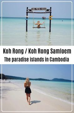 Koh Rong and Koh Rong Samloem is located on the coast of Sihanoukville in the South of Cambodia. A backpacker Guide to Koh Rong/Samloem Travel And Tourism, Us Travel, Travel Tips, Travel Destinations, Koh Rong Samloem, Horse Carriage, Travel Plan, Paradise Island, Freaking Awesome
