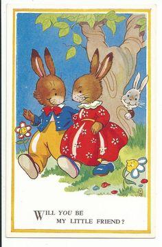 Violet Harford postcard