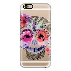 iPhone 6 Plus/6/5/5s/5c Case - Day of the Dead Skull ($40) ❤ liked on Polyvore featuring accessories, tech accessories, iphone case, iphone cover case and apple iphone cases