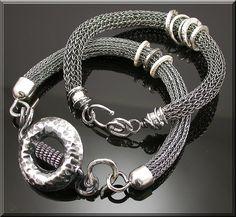 viking knit jewelry   Jewelry and Bling: Viking Knit