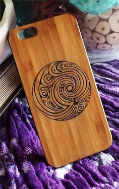 Tribal Waves wood case for iPhone iPhone iPhone 7 plus, iPhone iPhone 8 plus, iPhone X Xs Xr Xs Max 11 Pro Max Iphone 8 Plus, Iphone 7, Iphone Cases, Handmade Shop, Handmade Crafts, Custom Wood Signs, Etsy Crafts, Artwork Design, Iphone Models