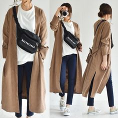 Balenciaga, Duster Coat, Cool Outfits, Photo And Video, Denim, Womens Fashion, Jackets, How To Wear, Clothes