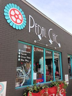 Pedal Chic is the first women's bike shop catering to bikes and bike fashion for women.